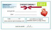 CHEQUE CADEAU 120 €