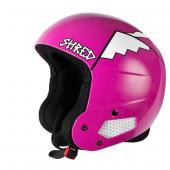 CASQUE SHRED BRAIN BUCKET WHYWESHRED PINK