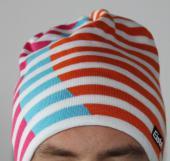 BONNET EISBAR GLOBAL ORANGE/ROSE