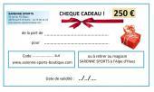 CHEQUE CADEAU 250 €