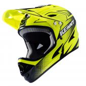 CASQUE INTEGRAL KENNY DOWNHILL JAUNE FLUO