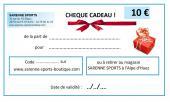 CHEQUE CADEAU 10 €