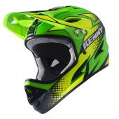 CASQUE INTEGRAL KENNY DOWNHILL VERT FLUO