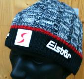 BONNET EISBAR THEO GRIS/ROUGE