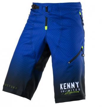 SHORT VTT KENNY FACTORY BLEU/JAUNE