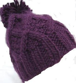 Bonnet MIRABELLE violet