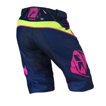 SHORT KENNY TRACK LIME/ROSE FLUO