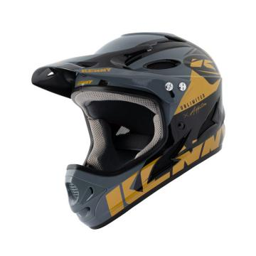 CASQUE KENNY DOWNHILL NOIR/OR