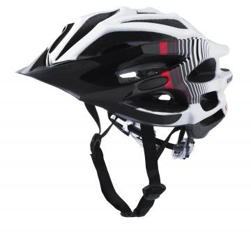 CASQUE KENNY FURTIF BLANC/ROUGE