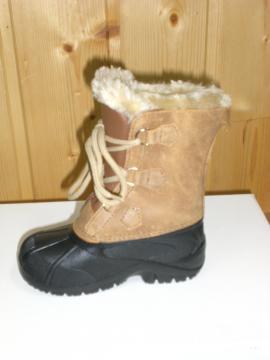 Bottes de neige Junior LA THUILE marron clair