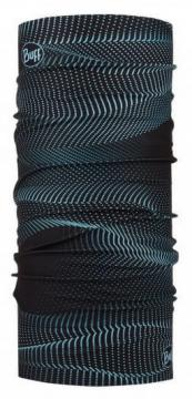 TOUR DE COU BUFF ORIGINAL 20 GLOW WAVES BLACK