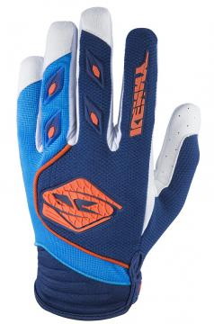 GANTS DE VELO KENNY TRACK BLEU/ORANGE