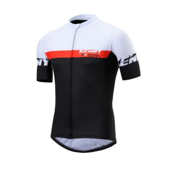 MAILLOT KENNY XC NOIR/ROUGE