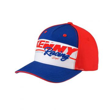 CASQUETTE KENNY HERITAGE ROUGE/BLEU