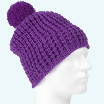 BONNET POC COLOR BEANIE VIOLET